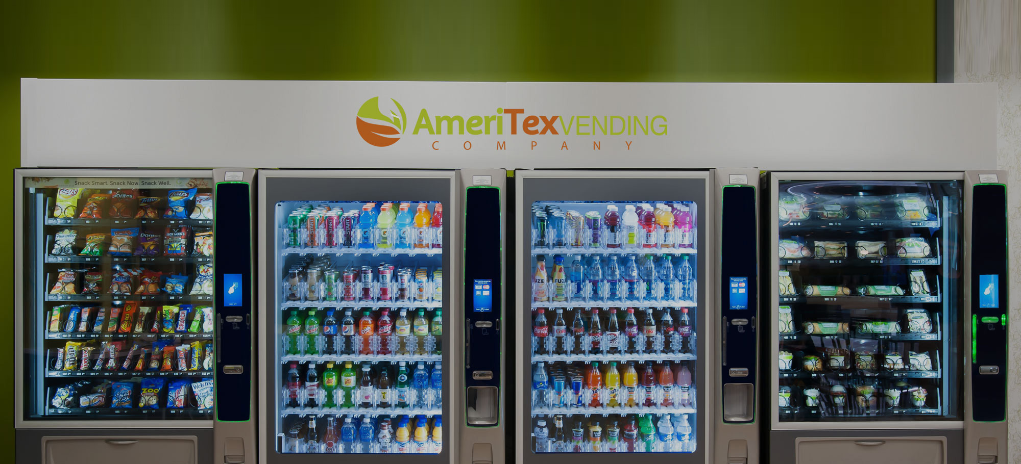 Variety of payment options for vending machines